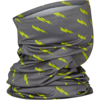 Madison Isoler Microfiber Neck Warmer Bolts Phantom/Lime