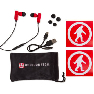 Outdoor Tech Tags 2.0 Wireless Earbuds Red