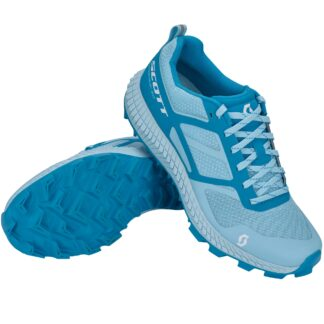 Scott Womens Supertrac 2.0 Trail Running Shoe Light Blue/Blue