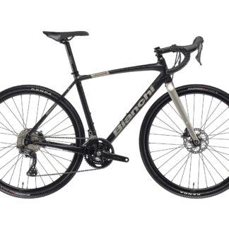 Bianchi Impulso Allroad GRX 600 2021 Black/Titanium Full Matt