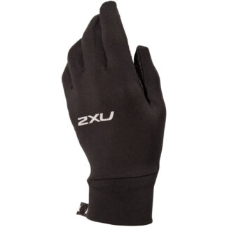 2XU Run Glove Black/Silver