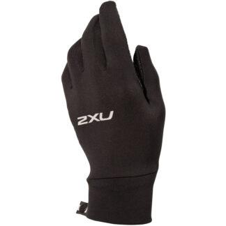 2XU Run Glove Black/Silver