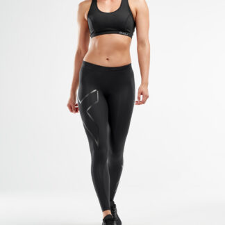 2XU Womens Core Compression Tights Black/Nero