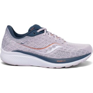 Saucony Guide 14 Womens Running Shoes Lilac/Storm