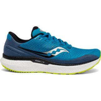 Saucony Triumph 18 Running Shoes Cobalt/Storm