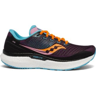 Saucony Triumph 18 Womens Running Shoes Future/Black