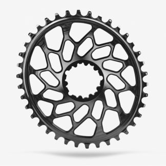Absolute Black CX 1x Oval SRAM Direct Mount Chainring Black