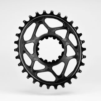 Absolute Black MTB Oval SRAM BOOST 148 Direct Mount (3mm offset) Chainring Black