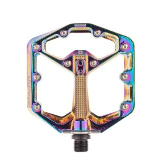 Crankbrothers Stamp 7 Flat Pedals Oil Slick Edition Large