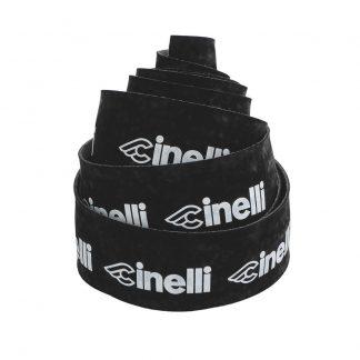 Cinelli Logo Velvet Bar Tape Black/White