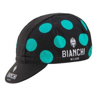 Nalini Bianchi Neon Celeste Polka Cap