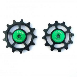 C-Bear Shimano Ceramic Hybrid (Original Cage Max) Jockey Wheels