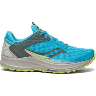 Saucony Canyon TR2 Womens Running Shoes Blaze/Lime
