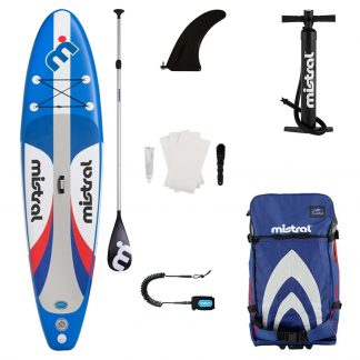 Mistral Adventure Inflatable Stand Up Paddleboard Combo