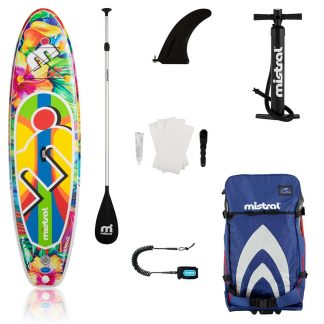 Mistral Flamenco Inflatable Stand Up Paddleboard Combo