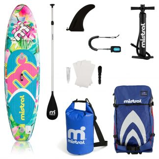 Mistral Tempo Inflatable Stand Up Paddleboard Combo