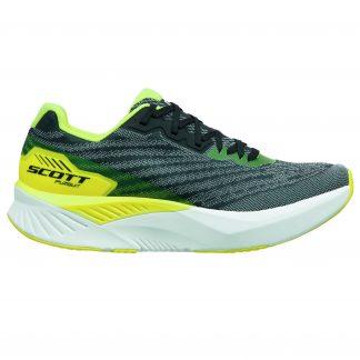 Scott Pursuit Running Shoe Black/Yellow