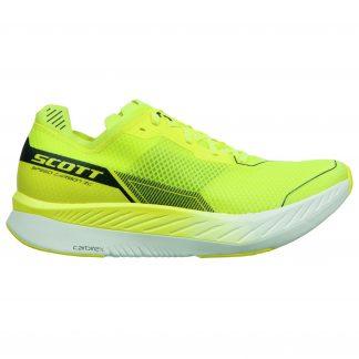 Scott Speed Carbon RC Running Shoe Yellow/White