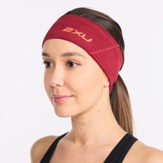 2XU Ignition Headband Rhubarb/Fiesta