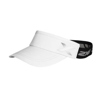 2XU Performance Visor White